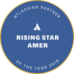 Atlassian 2018 Partner of the Year: Rising Star Badge