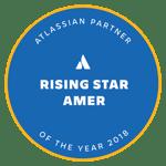 Atlassian 2018 Partner of the Year: Rising Star award