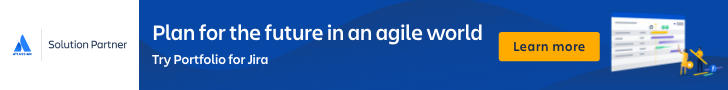 Plan for the future in an agile world. Try Portfolio for Jira