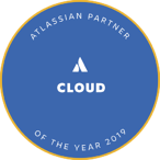 Atlassian 2019 Partner of the Year: Cloud Badge