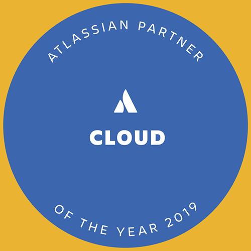 E7 earned Atlassian's 2019 Partner of the Year: Cloud award
